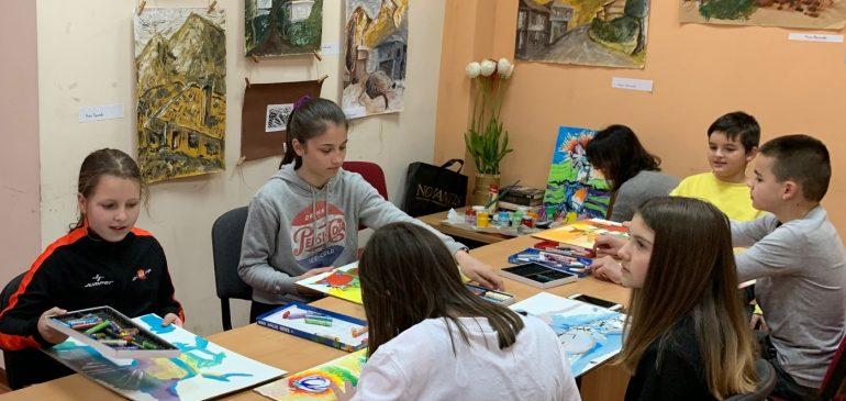 Значението на изкуството в развитието на децата
